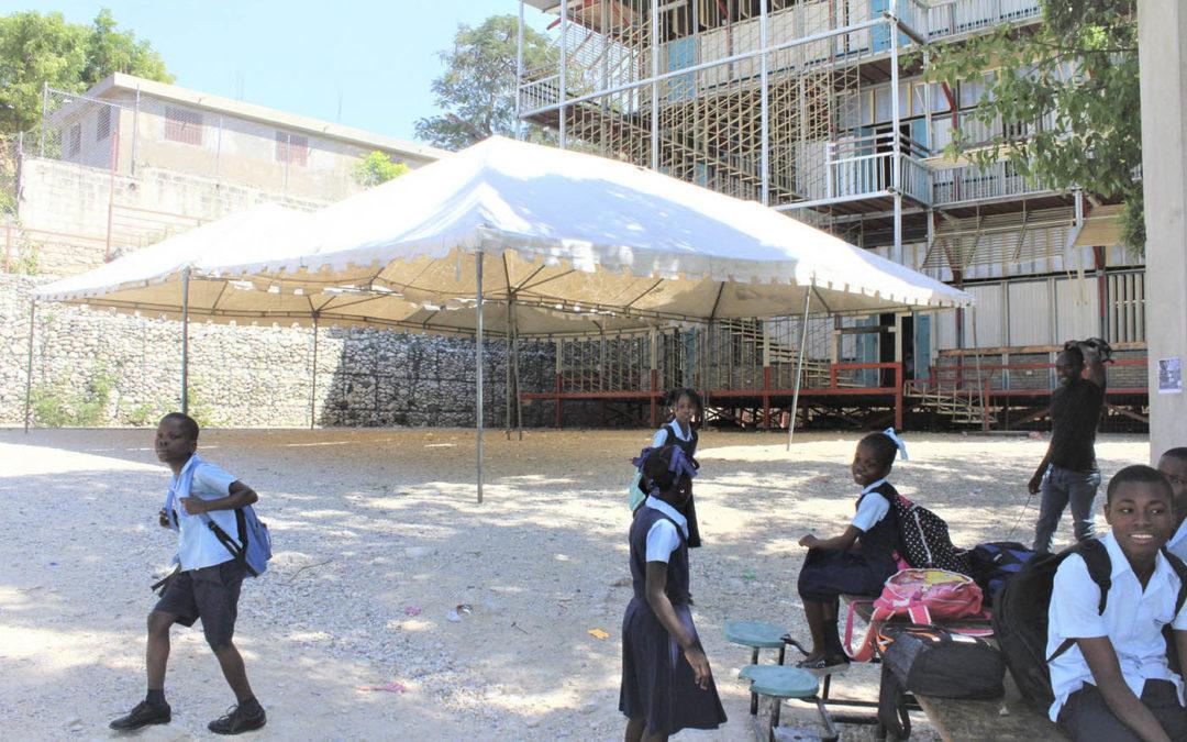 HAÏTI – Une école à reconstruire après le tremblement de terre